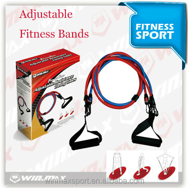 Heavy Resistance Band tube, chest expander flexible latex tubing exerciser