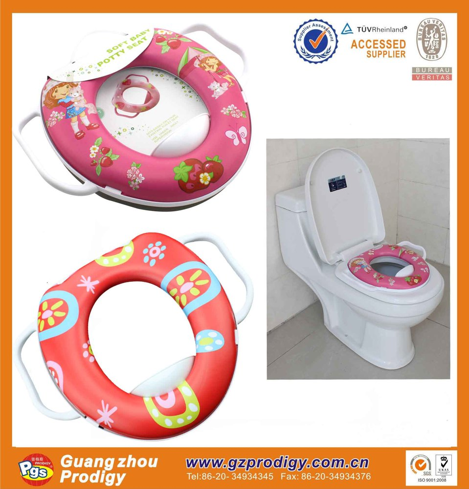 toilet seat with handle baby toilets potty training travel potty seat for toddler