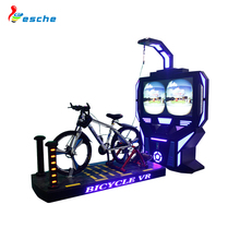 LSJQ-818 latest VR equipment Virtual Reality 9D Simulator 9D Vr Cinema Type bicycle