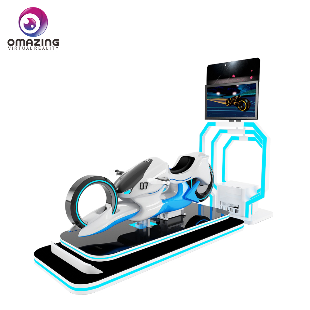 Crazy VR moto מירוץ משחק 9d vr סימולטור לפרק שעשועים ציוד