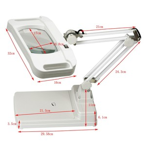 Magnifying glass led lamp magnifying glass x10