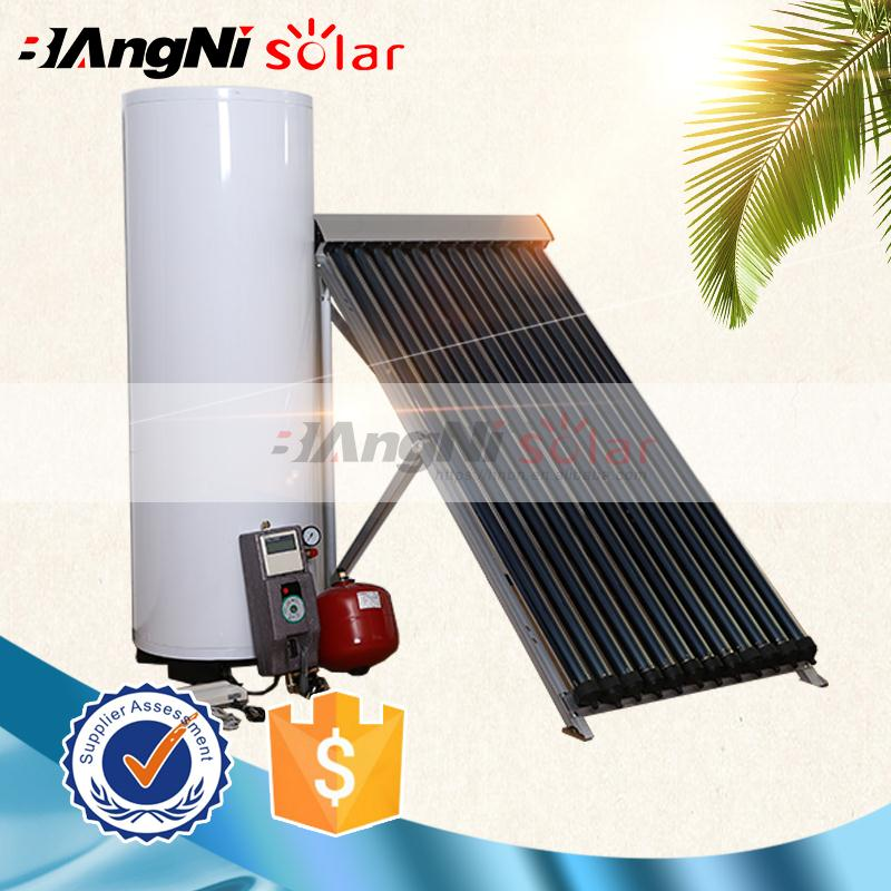 Home appliance high pressure geysers Split solar water heater heating system