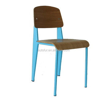 Modern Wooden Dining Room Chair Parts Jean Prouve Standard Chairs Metal Tub