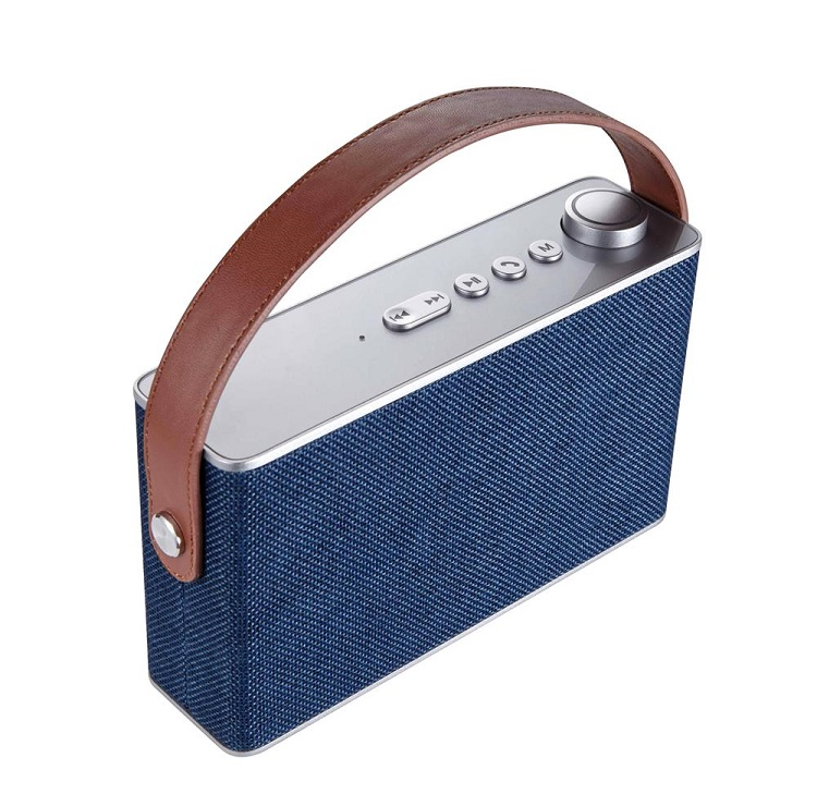 smart gadget 10W OEM CE RoHS fabric bluetooth speaker