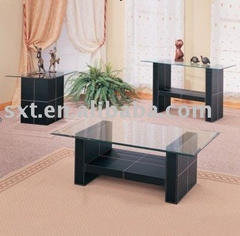 Modern Design Wooden Center Table With Glass Top Buy Wooden Center
