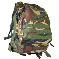 40L Woodland Camouflage Outdoor Travel Military Adluts Sport Bags Camping Backpacks Hiking Backpack