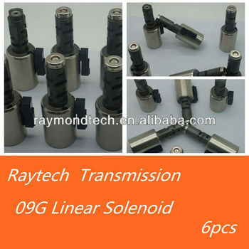 Aw/09g/tf60sn Transmission Solenoid Set - Buy 09g/tf60sn,Aisin  Transmission,Aw Product on Alibaba com