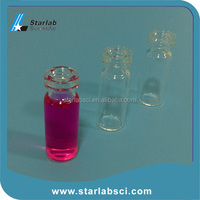 Dedicated 2ml Clear Snap Top Insert Vials