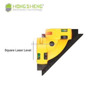 Supply high quality right angle laser level with 2 bubbles