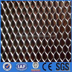 copper lath mesh/expanded metal mesh