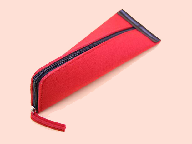 Wholesale New Design Fashionable Felt Pencil Case,felt Pen Bag,felt Pen Pouch