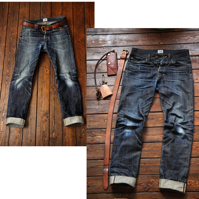 custom high quality vintage wash distressed japanese