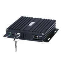 sd card portable dvr digital video recorder 4ch ahd vehicle dvr