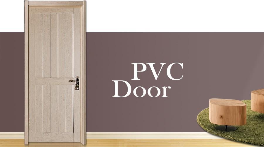 Cheap price school using finishing pvc wood door for Cheap pvc door