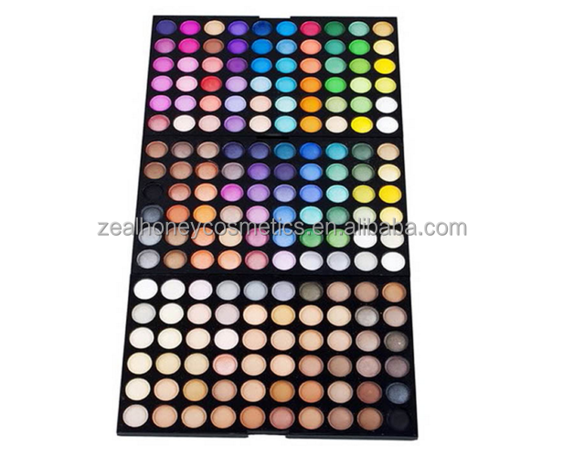 180 Color Makeup Warm EyeShadow Palette Neutral Eye Shadow