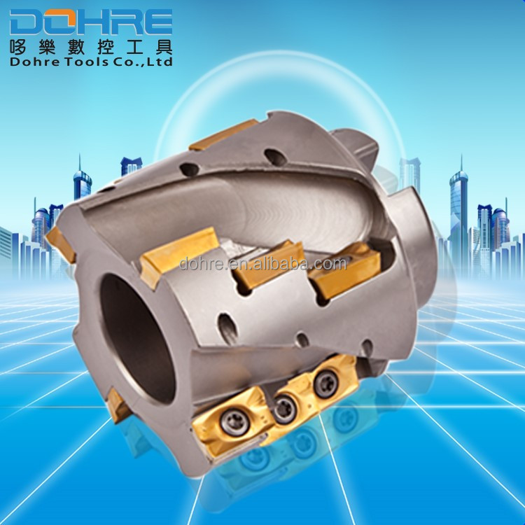 factory big rate face high feed milling cutters