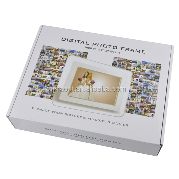 Pequeño tamaño pantalla LED 8 pulgadas TV marco de fotos digital ...