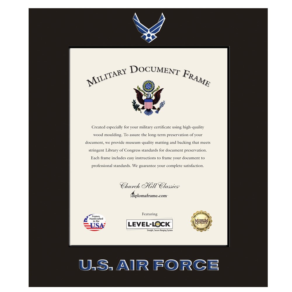 Buy Church Hill Classics Us Air Force Certificate Framephoto Frame