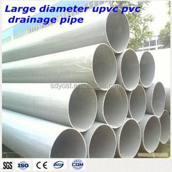200mm White Color Pvc Drainage Pipes