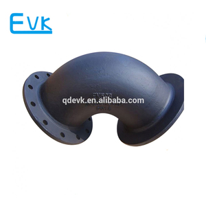 Ductile Iron Pipe Fitting Flanged Elbow 90 Degree