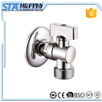 "ART.3008 Forged 1/2""x1/2"" or 1/2""x3/4"" brass angle valve with chromed plated male thread Alibaba china supplier online shopping"