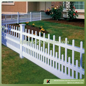 plastic picket fence buy plastic picket fence cheap vinyl fence pvc garden fence product on. Black Bedroom Furniture Sets. Home Design Ideas