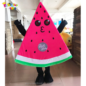 Enjoyment CE funny inflatable watermelon costumes walking mascot china for sale
