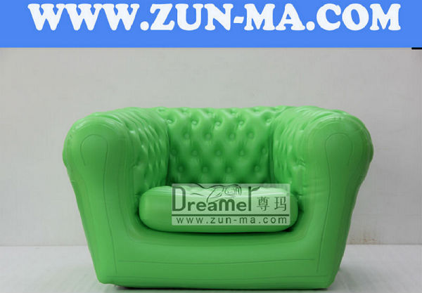 Brand new living room inflatable chesterfield sofa