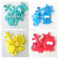 small fast selling items New Products funny best teething toys for 2015 christmas gift/ocean teething set as christmas gift item