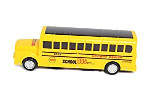 Bump And Go Yellow School Bus -Great Toy Vehicle For Toddlers & Kids! Lights N Sound Action School Bus - Perfect Gift for Kids
