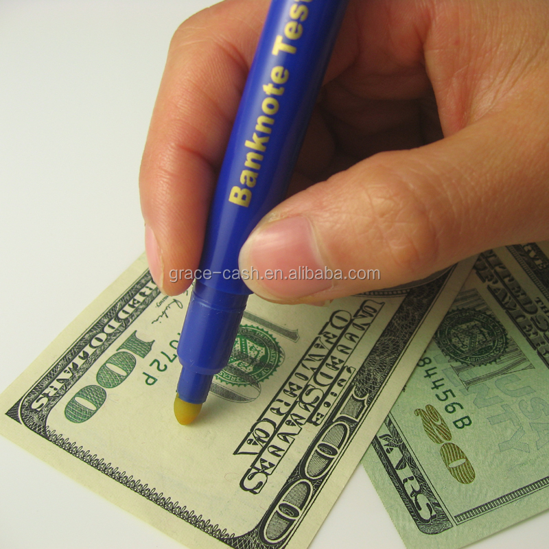 Quick Check Counterfeit Money Detector Pen 2 In 1
