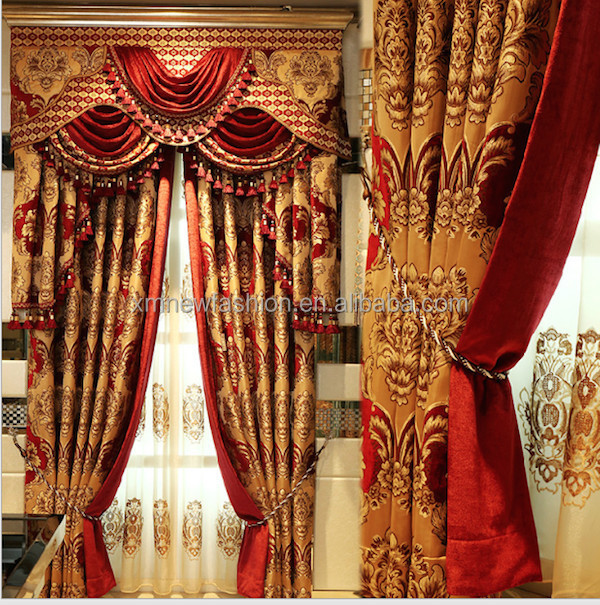 Fancy Living Room CurtainsDressing Rooms CurtainsFloral Printed
