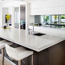 australia estilo de diseo moderno mdf melamina gabinete de cocina de la fbrica