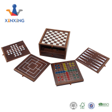 Mini 4 In 1 Kayu Papan Catur Checker <span class=keywords><strong>Backgammon</strong></span> Permainan Set <span class=keywords><strong>Kotak</strong></span> Penyimpanan