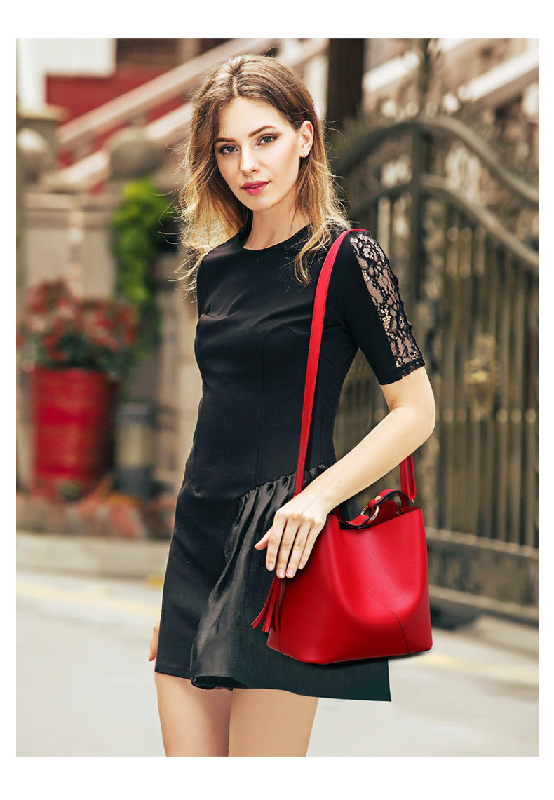 ANGEDANLIA elegant leather crossbody bag for sale for date-2