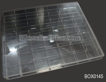 49 Grids Clear Plastic Box storage Jewelry Beads Container Buy