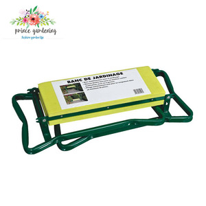 Deluxe Foldable Garden Kneeler and Seat with Tool Pouch Garden Kneeler and Seat Stool