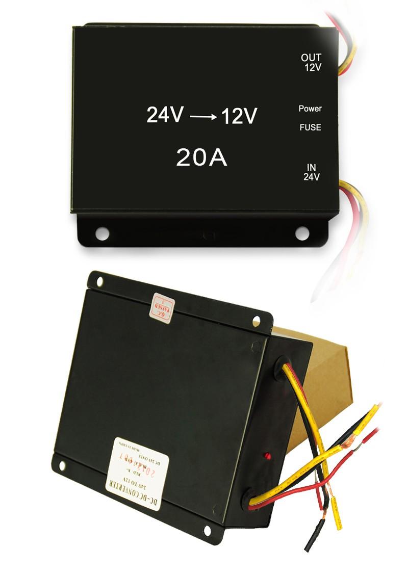 Competitive Price 12 V Dc To Ac Converter Voltage 24v 12v Circuit 20a For Car