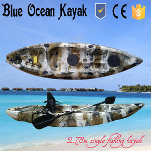 2015 Blue Ocean May hot sale cheap plastic kayak/cheap plastic canoe/cheap plastic boat
