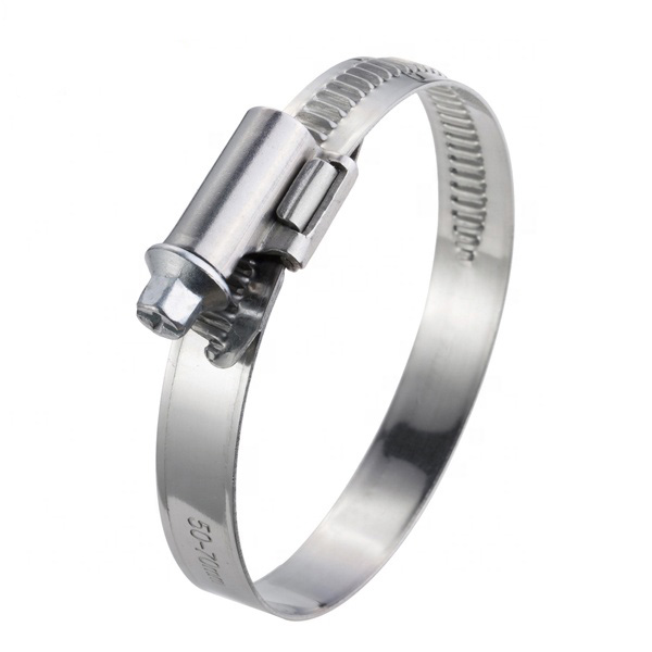 German Type Welded Stainless Steel Hose Clamps with 9mm