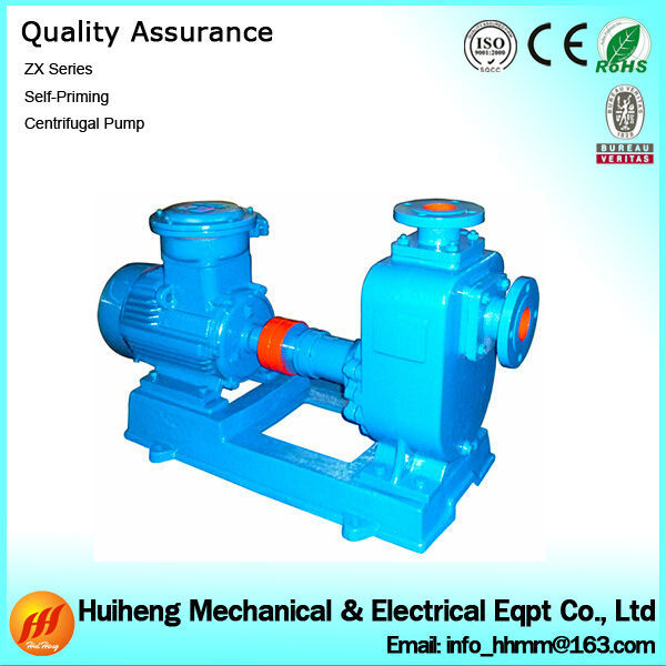 ZX Series Specification of Centrifugal Pump for Water