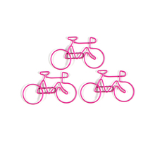Promotionele bike shaped <span class=keywords><strong>paperclips</strong></span> te houden papers-paperclip