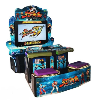 """42"""" 3d Street Fighter Iv Fighting Arcade Cabinet Game ..."""