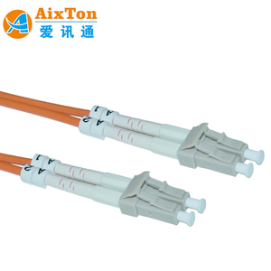 LC to ST Sm,Duplex,2.0mm,Lszh,9 125,Os2 Fiber Optic Patch Cord In Active device