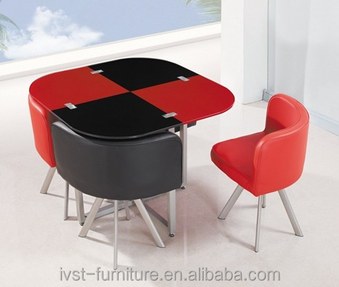 Red And Black Dining Table Red And Black Dining Table Suppliers And Manufacturers At Alibaba Com