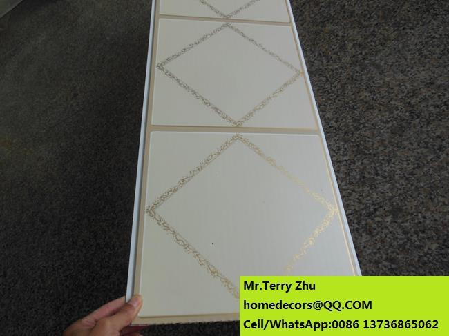 New Artificial Marble Pattern PVC Bathroom Wall Covering Panel