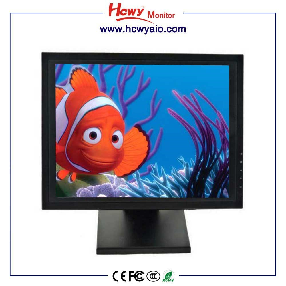 "15"" 17"" Double Sided Touch Screen Monitor 1280*1024 For Wholesaler"