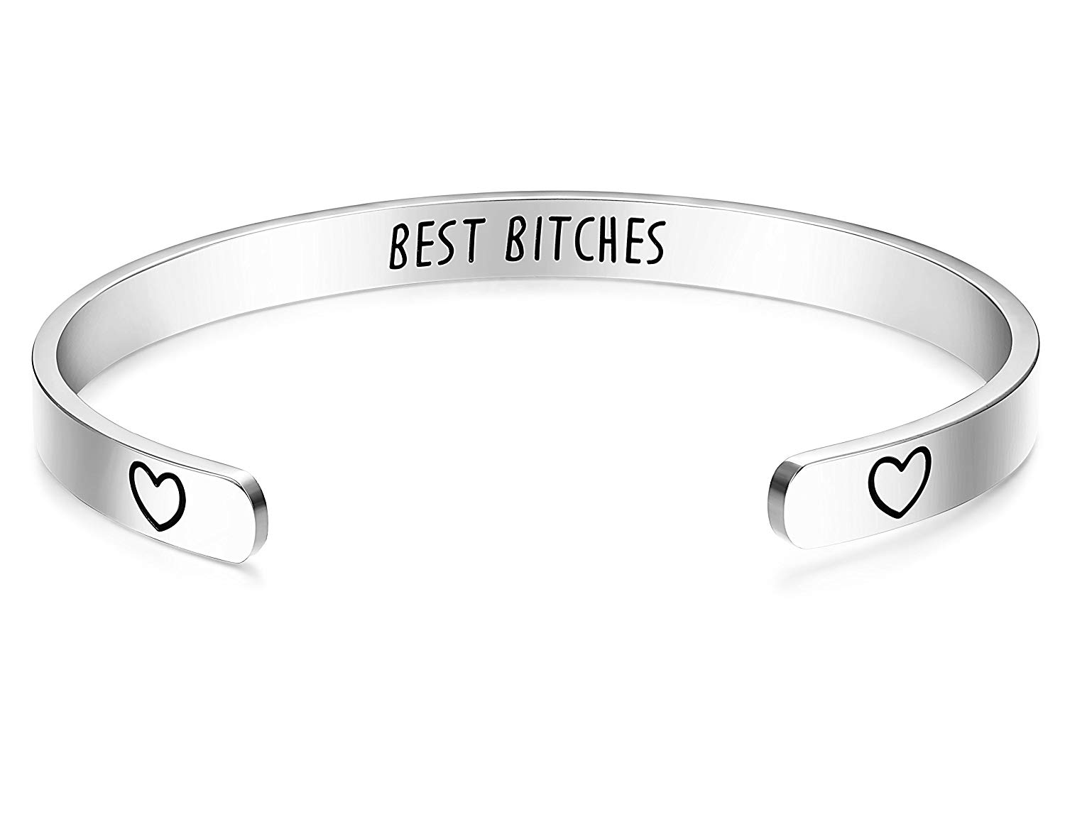 UNQJRY Friendship Cuff Bracelet for Women Inspirational Jewelry Gift for Girl Birthday