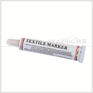 Kearing Brand 90g Toothpaste Knitting & Dyeing Industry Using Yellow Textile Marker for Fabric #TM25-Y