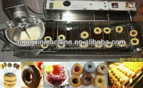 2016 hot sale stainless steel donut making machine